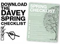 Download the Davey Spring Checklist