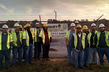Relentless Focus on Safety Helps Newberry Electric Achieve Milestone