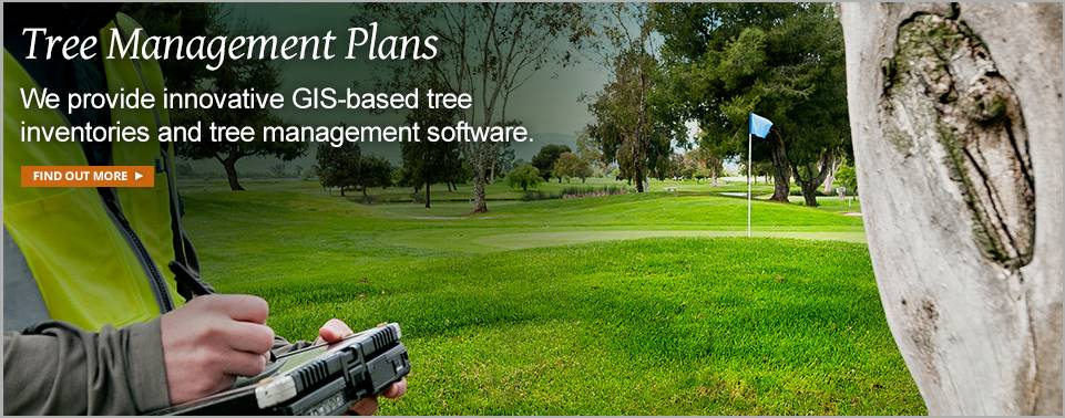 Golf Course Maintenance GIS Inventories & Management Software