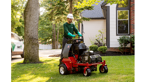 >> Lawn Aeration & Overseeding