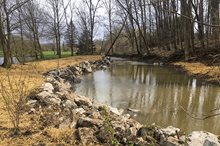 WEST FORK NATURAL STREAMBANK REPAIR, BATH TOWNSHIP, OH